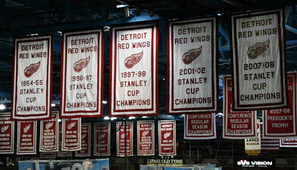 Joe Louis Arena Banners 2