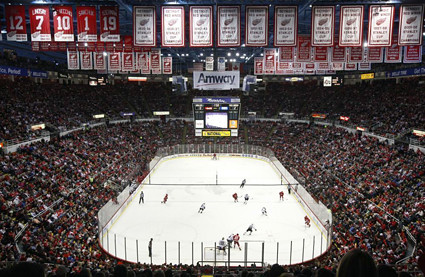 Joe Louis Arena interior