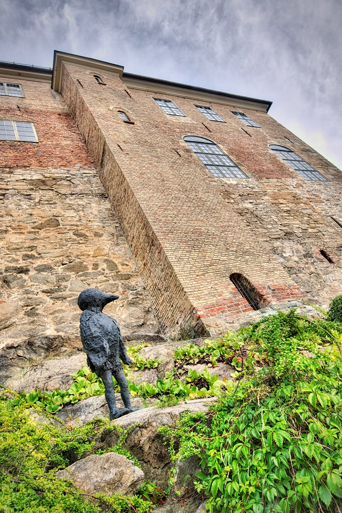 Sculpture at Akershus Fortress
