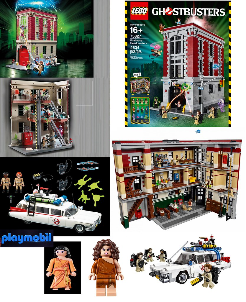 playmobil vs lego ghostbusters i really cant wait to get t flickr. Black Bedroom Furniture Sets. Home Design Ideas