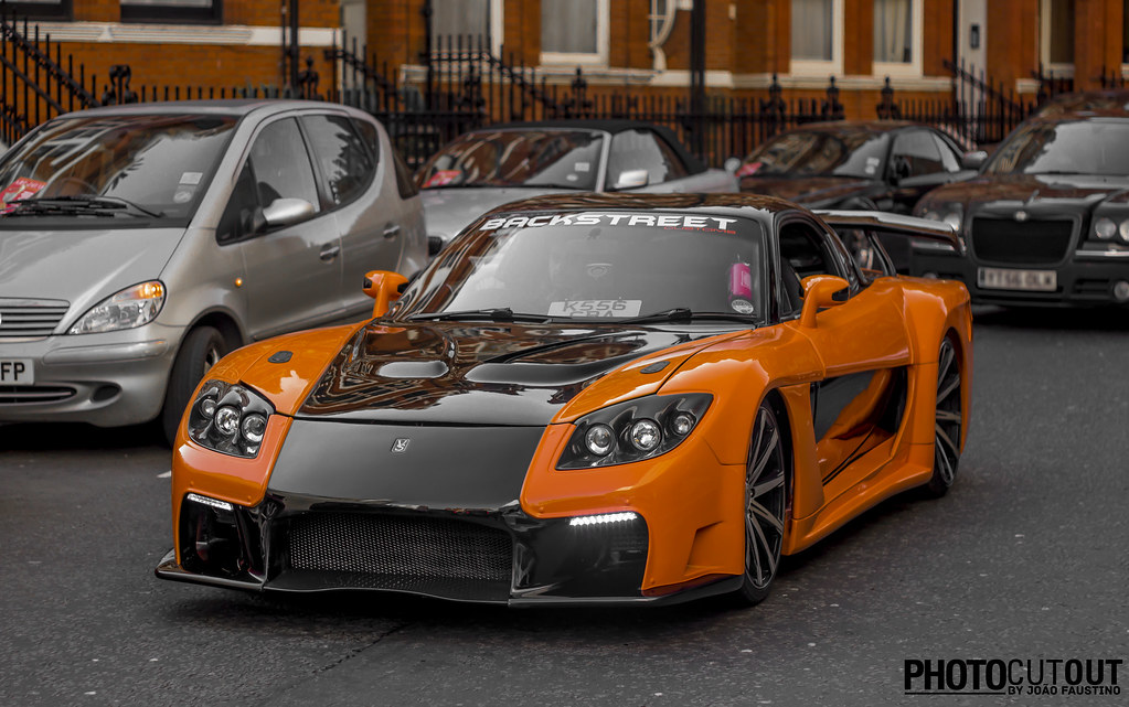 Mazda Rx7 Tokyo Drift >> Look who showed up in town....Han and is Mazda rx7 ! | Flickr