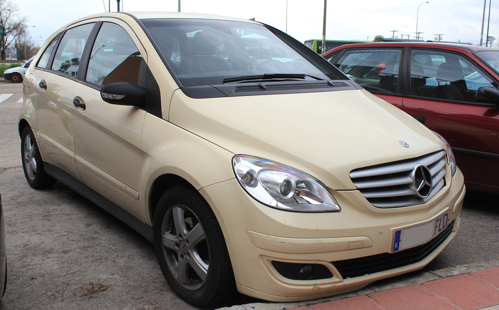 2007 Mercedes Benz B Klasse T245 Spotting Ex German Taxi Flickr