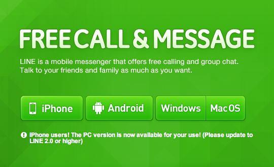 free download line messenger for mac