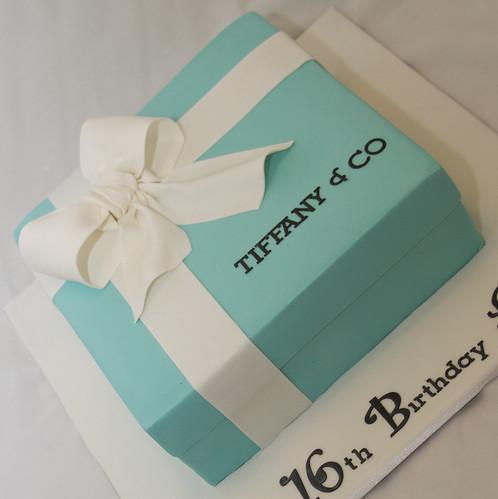 tiffany amp co gift box cake wwwfacebookcom