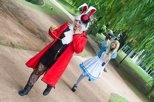 Alice in Wonderland Cosplay @ HamaCon '14 | by djzippy