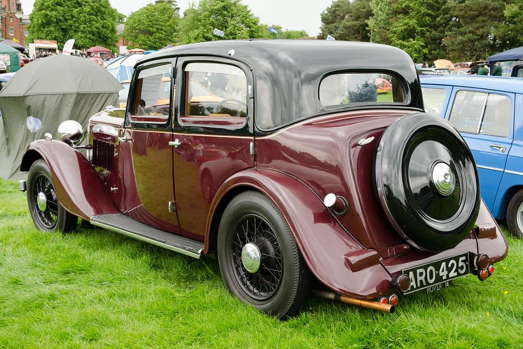 Capesthorne Hall Classic Car Show