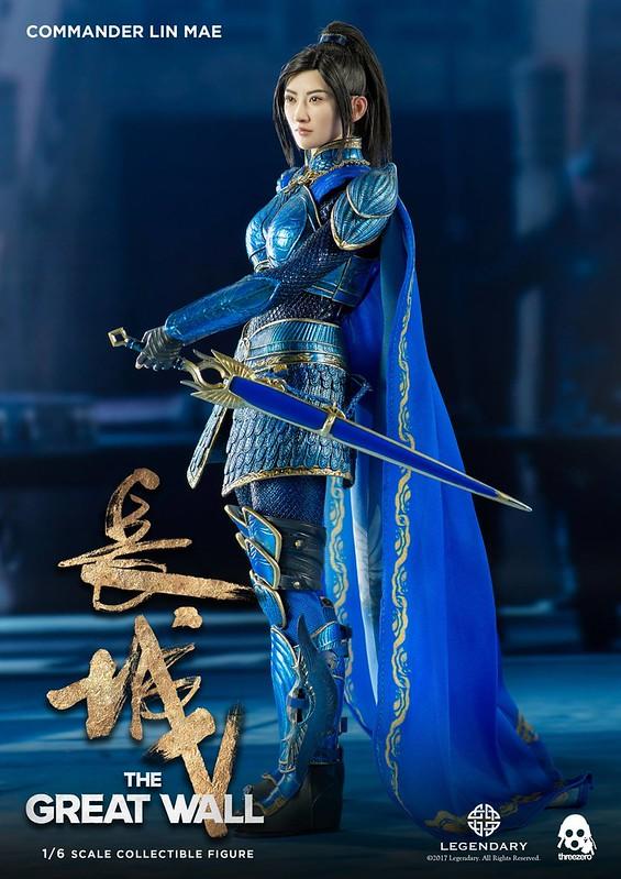 Commander Lin Mei Jing Tian Threezero