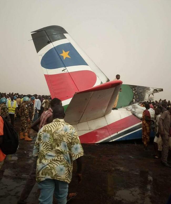 Balesetet szenvedett egy An-26-os Dél-Szudánban