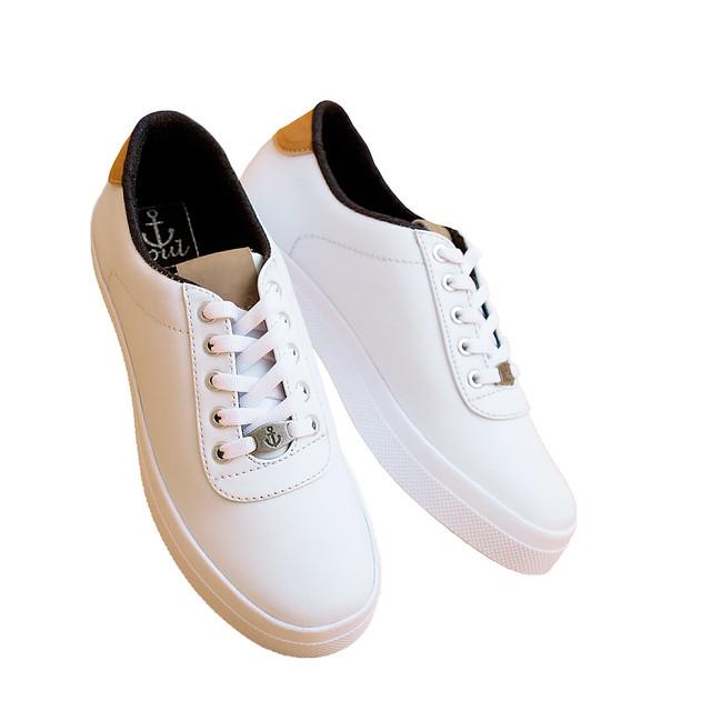 Zapatos blancos formales Lemontree para mujer FXW8N