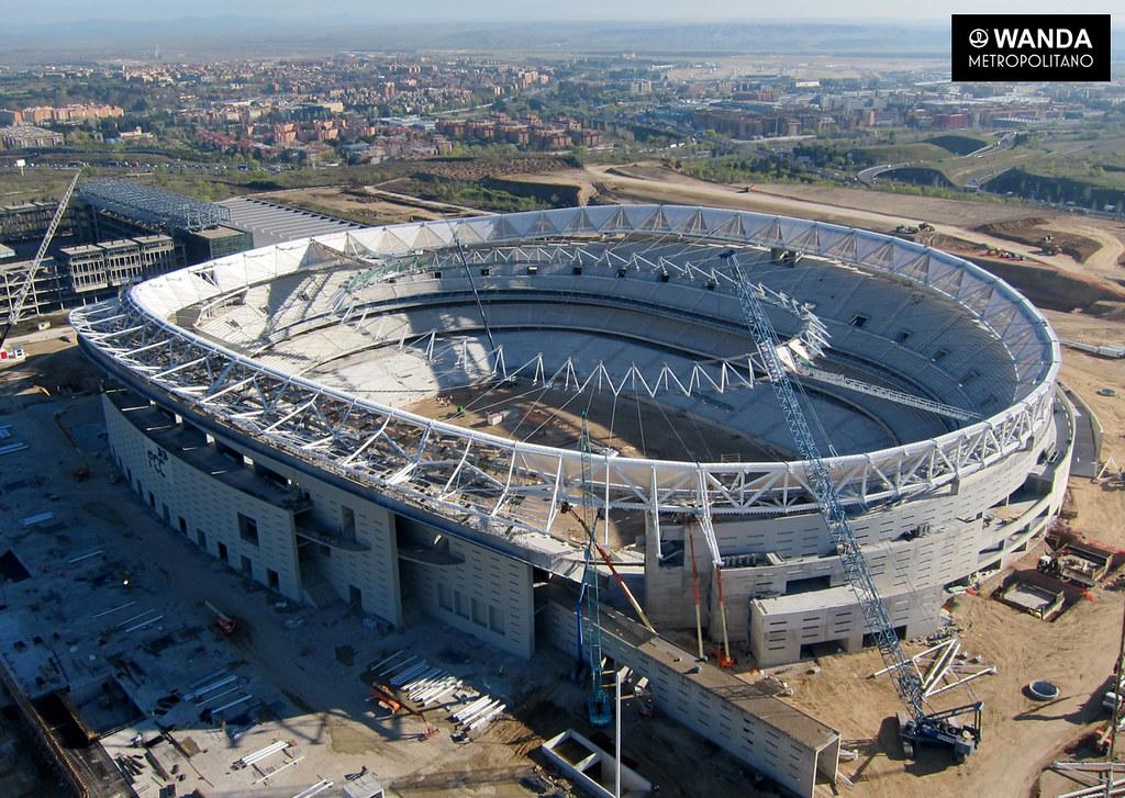 Nuevo estadio atletico de madrid wanda metropolitano n for Puerta 3 wanda metropolitano