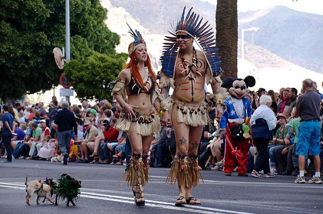 Carnival parade, Santa Cruz, Tenerife