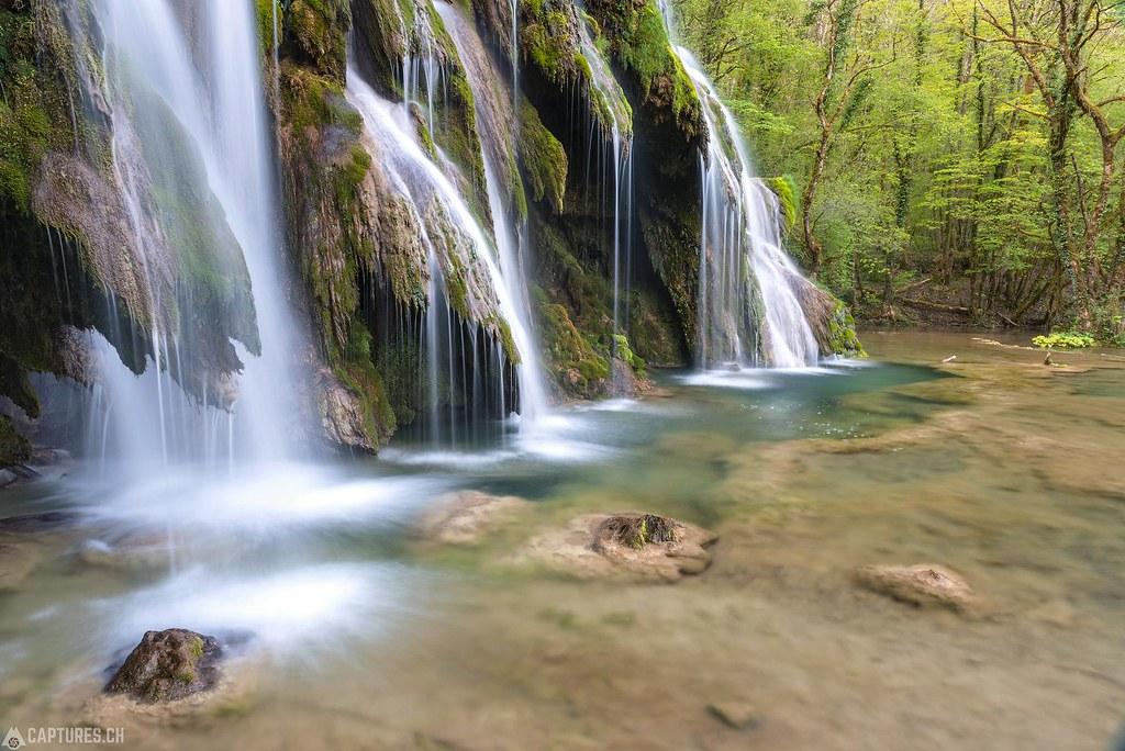Cascades de tufs 3 - Jura France