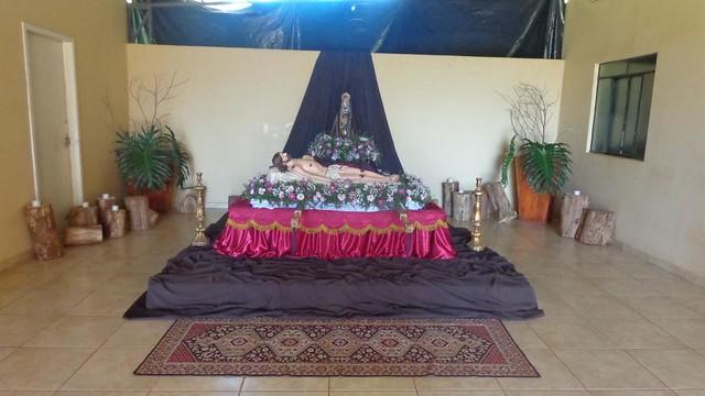 Procissão do Cristo morto no Noviciado Masculino
