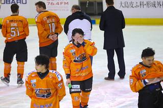 [2017/4/1] IceBucks 2-3(OVT) Sakhalin