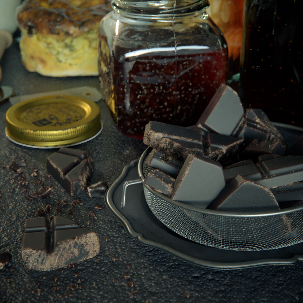 Still Life Detail (V-Ray)