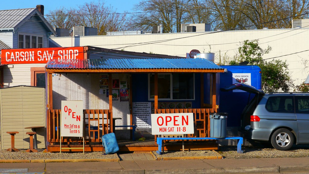 El Buen Sabor Mexican Food Stand In Eugene Oregon Flickr