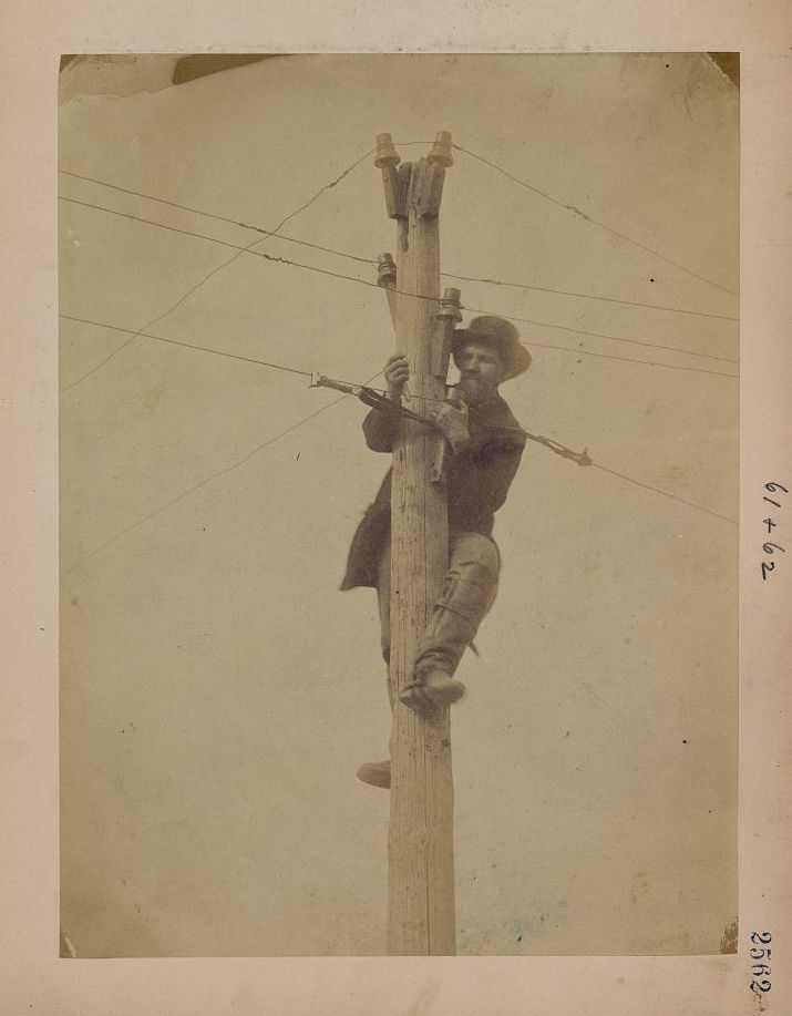 telegraph civil war