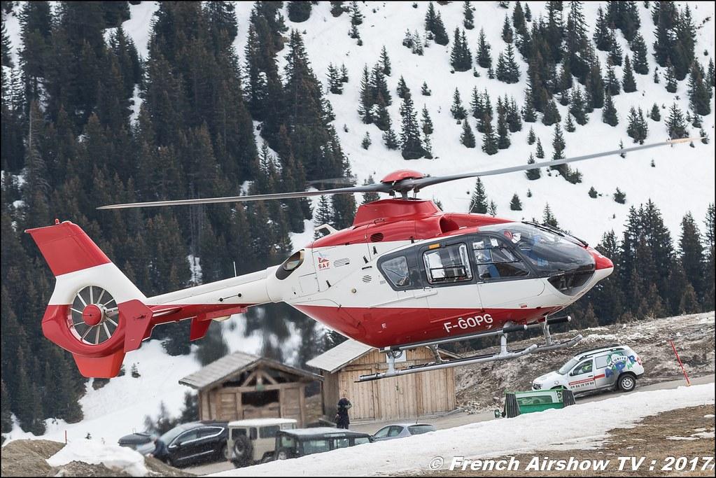 Eurocopter EC-135-T1 - F-GOPG , Saf-helico , S.A.F Service Aérien Français , Fly Courchevel 2017 , Hélico 2017