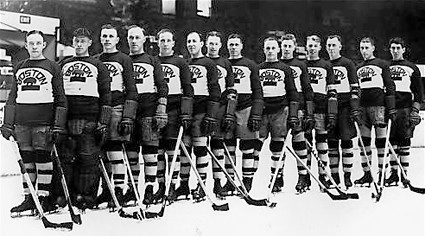 1927-28 Boston Bruins team