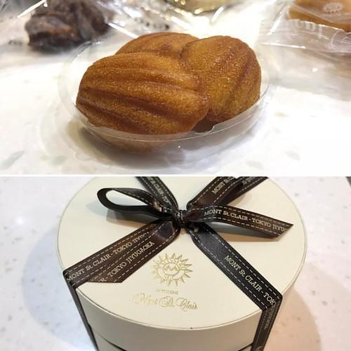 20170331來自日本的燒菓子