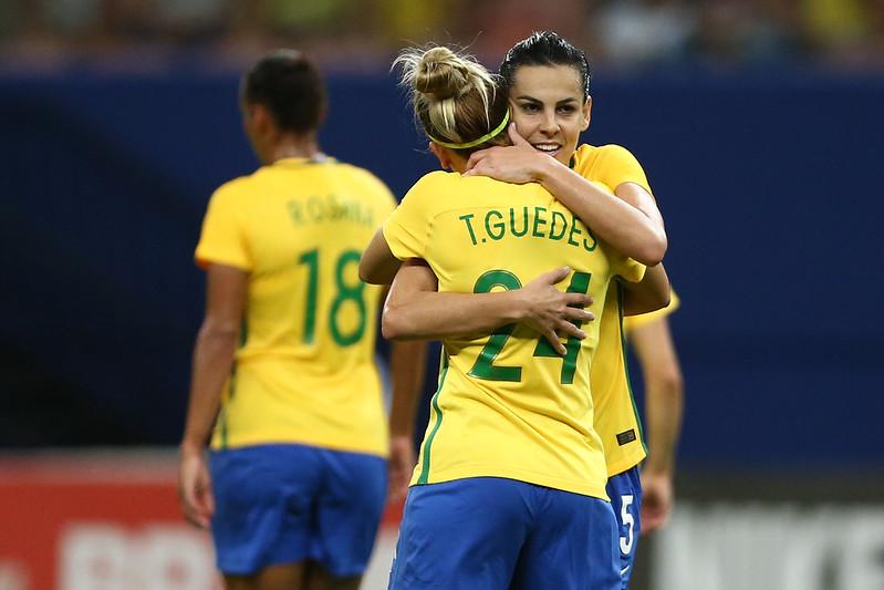 Amistoso da Seleção Feminina em Manaus Brasil x Bolívia