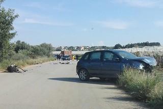 Noicattaro. Incidente strada per Mola front