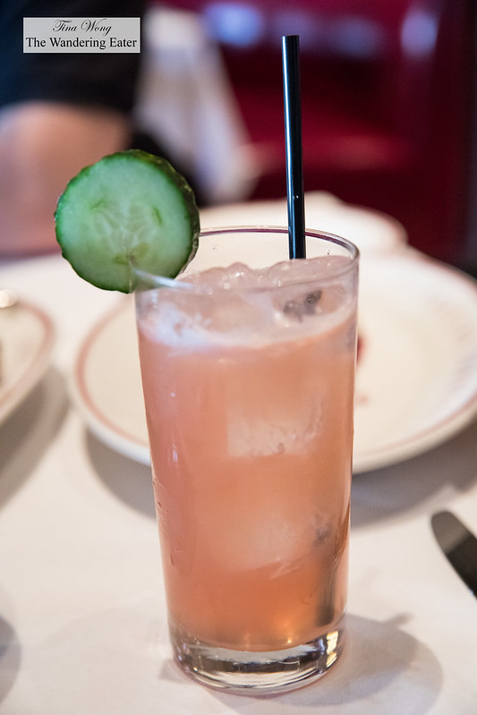 Rockhorse Park - Bulleit Bourbon, Campari, Salted Cucumber, Ginger Beer