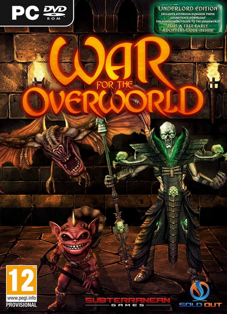 [PC]War for the Overworld My Pet Dungeon-RELOADED