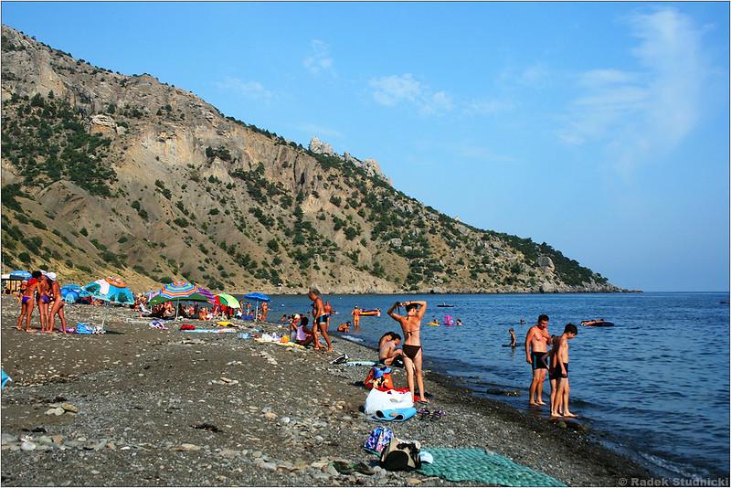 Plaża Wiesiołoje