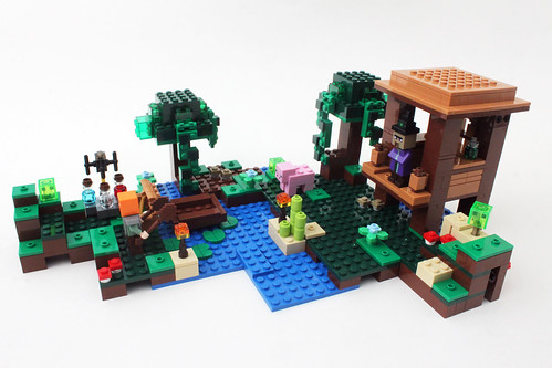 LEGO Minecraft The Witch Hut (21133)
