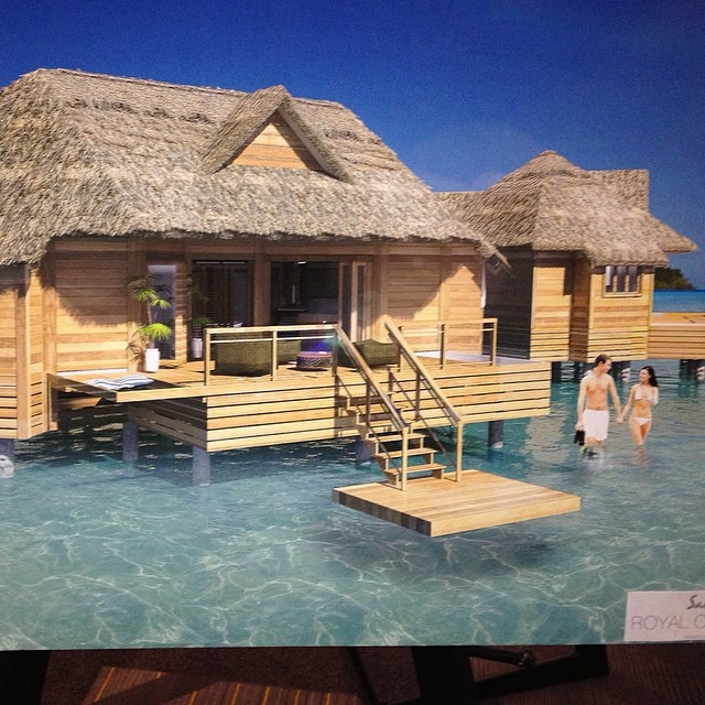 Bungalow In Love: Love The Features Of The New Overwater Bungalows Coming Ne