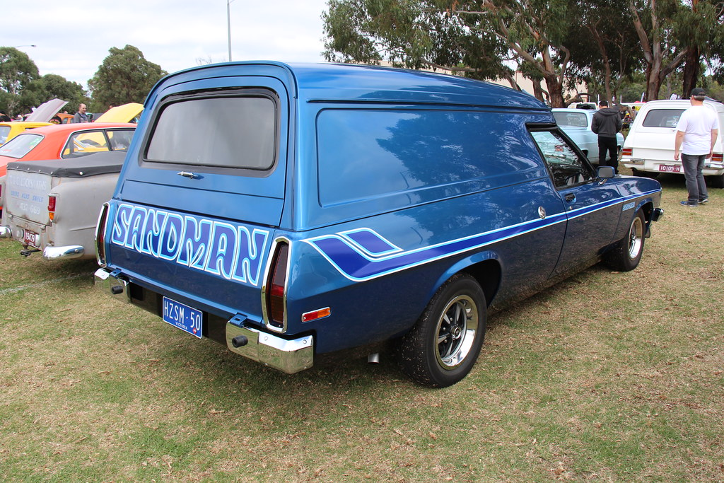 1980 Holden Hz Sandman Panel Van Windsor Blue The Hz