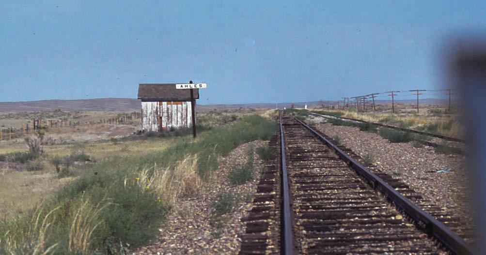 Ahles Siding East Of Ingomar Montana The Abandoned Milw
