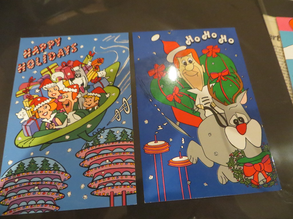 Jetsons Christmas Postcards | G | Flickr