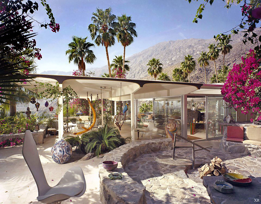 1950 Burgess House Palm Springs Albert Frey Flickr