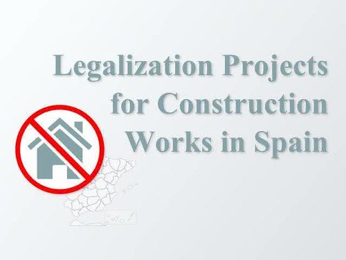 Legalization Projects for Properties in Spain