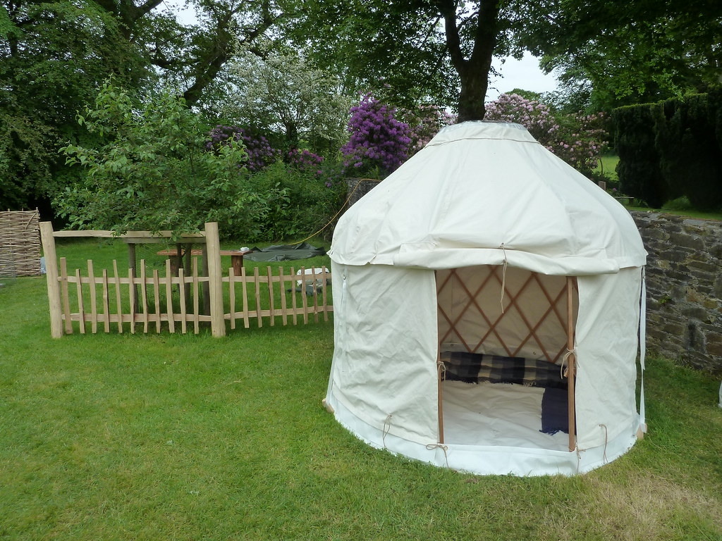Elegant ... Mini Yurt U0026 Cleft Fencing | By The Heartwood