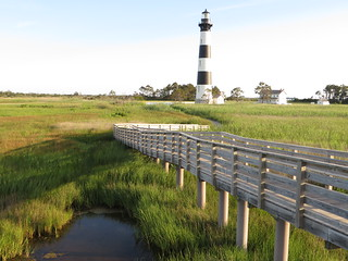 Bodie Island Lighthouse, Cape Hatteras National Seashore, Outer Banks, North Carolina | by Ken Lund
