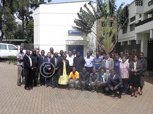 Participants at the Stakeholders' Workshop on 'Dissemination of Solar Energy Technologies in Kenya for Rural Electrification: Challenges and Opportunities'