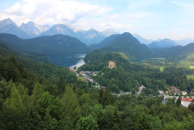 Beautiful scenery from neuschwanstein castle bavaria germany flickr photo sharing - Beautiful panoramic view house to take full advantage of the scenery ...