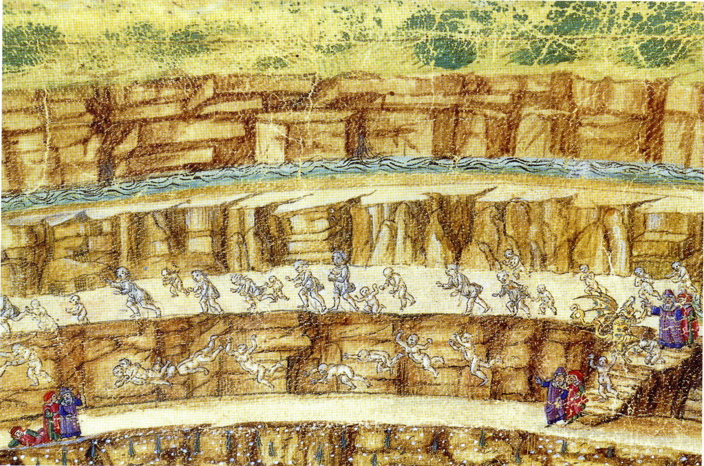 """Botticelli, """"Malebolge"""" from """"La Mappa dell'Inferno"""" 
