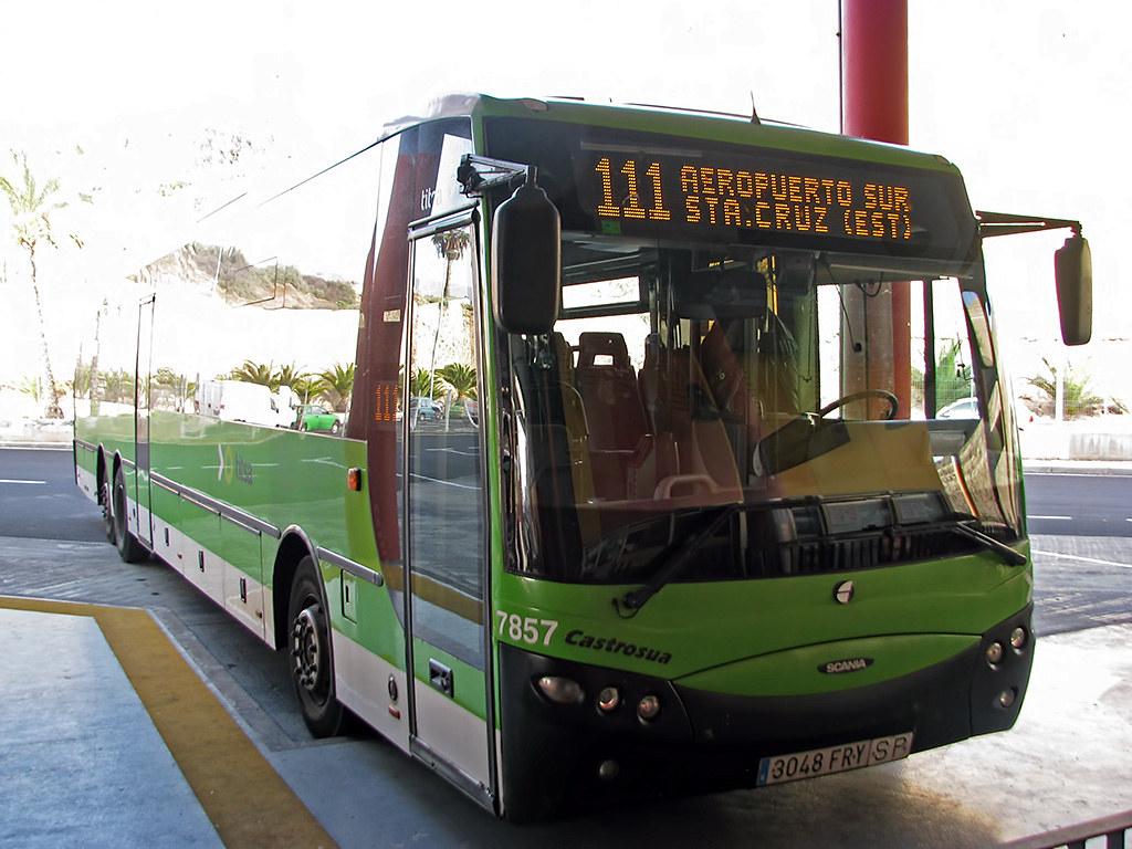 Aeroporto Tenerife Sud : 111 sta cruz u003e aeropuerto sur castrosua magnus titsa flickr