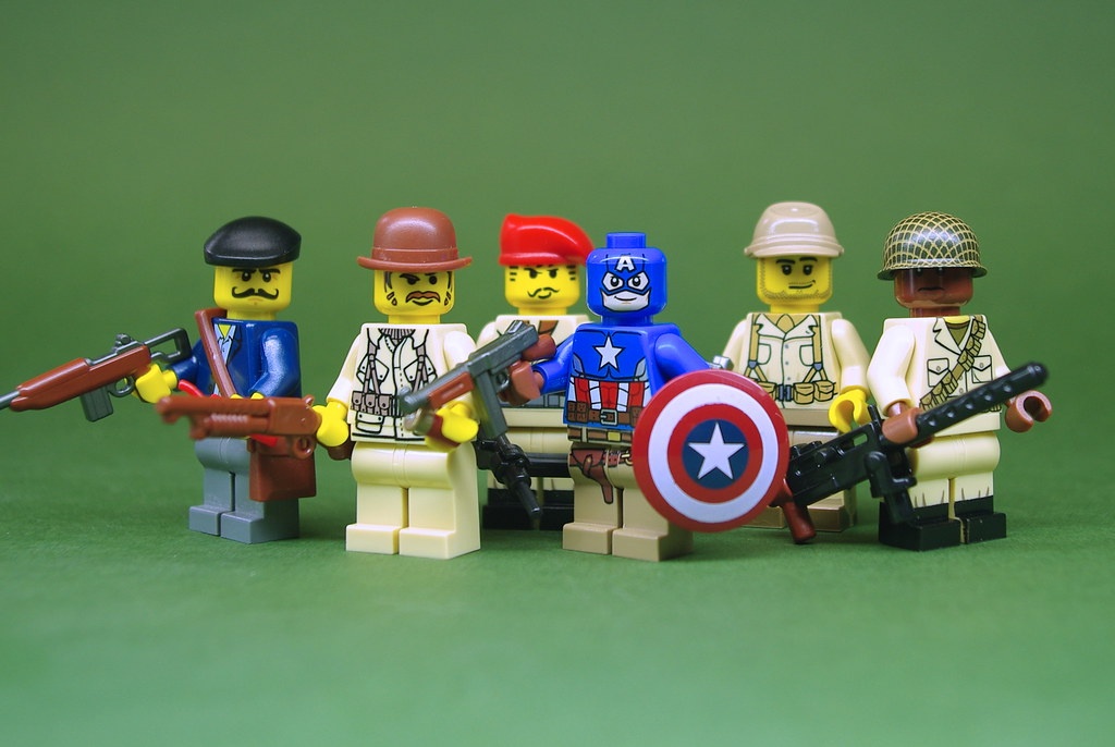 Image Result For Lego Captain America