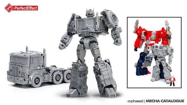 PerfectEffect PE-16 Jinrai Prime (Powermaster Optimus Prime / Jinrai)