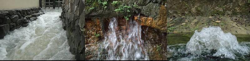 高雄原為湧泉貫穿的城市,湧泉形成的野溪美不勝收。