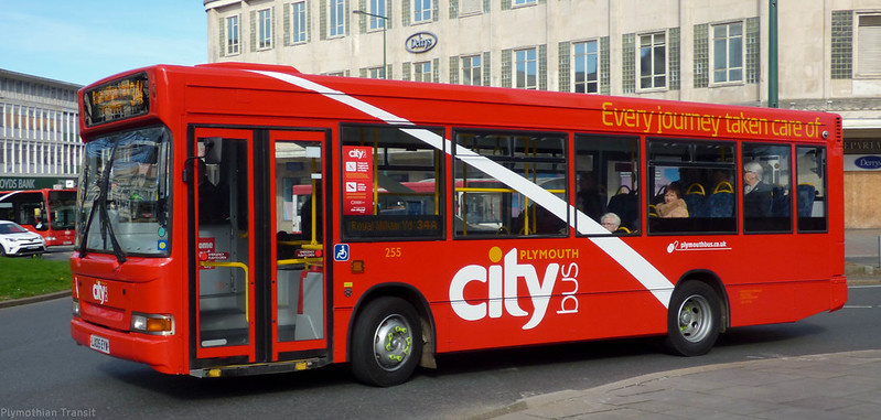 plymouth Citybus 255 LX05EYW