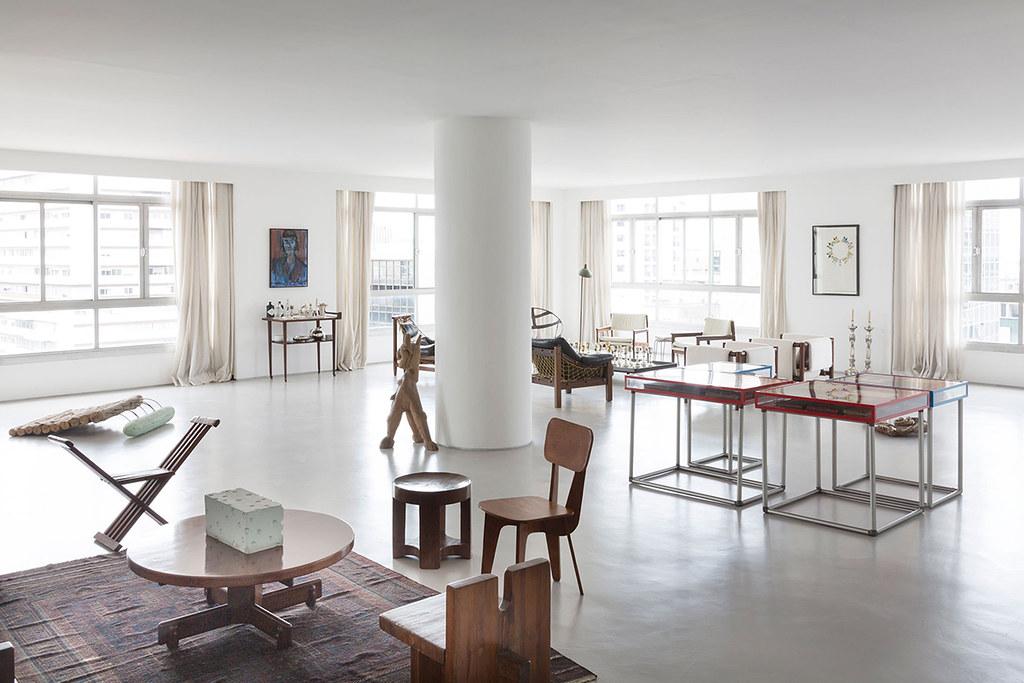 Apartment art in São Paulo by Brazilian architect Felipe Hess Sundeno_04