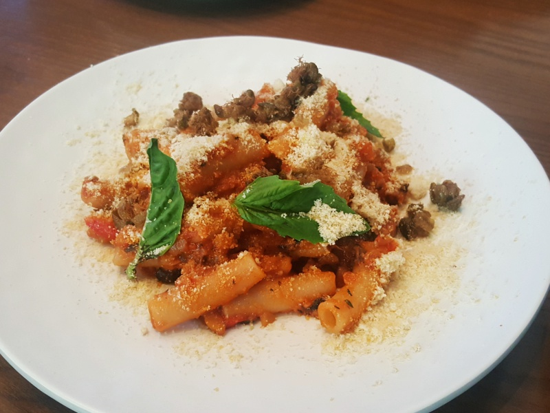 Planta pasta bolognese
