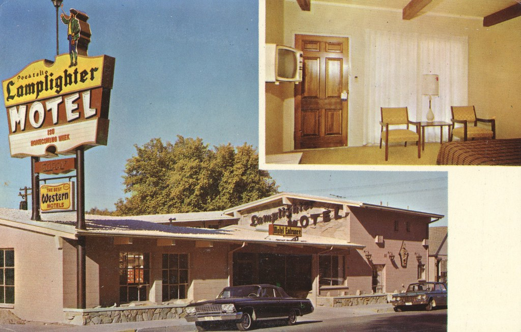 Lamplighter Motel - Pocatello, Idaho