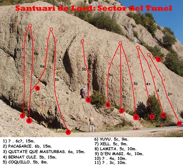 La Vall de Lord -07- Sector Camí del Santuari de Lord -01- Subsector Túnel -01
